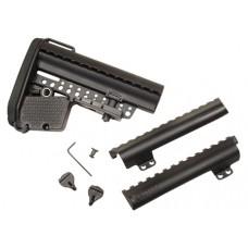 Vltor AEBKM EMOD Buttstock Kit AR-15 Mil-Spec Polymer Black