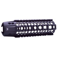 "Spikes SAR2107 BAR2 Quad Rail AR-15 7"" Aluminum Black"