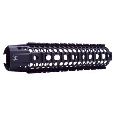"Spikes SAR2109 BAR2 Quad Rail AR-15 9"" Aluminum Black"