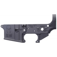 Spikes STLS021 Stripped Lower Spartan AR-15 Multi-Caliber Black