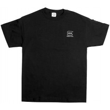 Glock GA10009 My Glock T-Shirt Large Short Sleeve Black Cotton