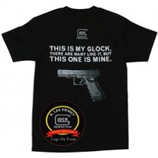 Glock GA10012 My Glock Short Sleeve T-Shirt XXX-Large Black Cotton