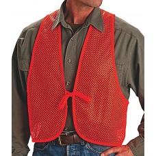 Allen 15750 Safety Vest Mesh One Size Fits All Polyester Blaze Orange