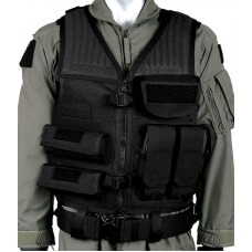 Blackhawk Omega Vest 30EV31BK Black Adjustable Nylon Mesh