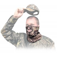 Primos PS6739 Face Mask 1/2 Mask Cotton Realtree APG