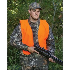 Allen 15752 Hunting Vest Orange Adult Quiet Acrylic
