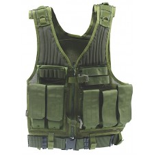 Drago Gear First Strike Vest Tactical Green Mesh Net