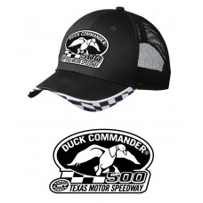Duck Commander DHDC50001 Logo Hat Mesh Black One Size Cotton/Poly