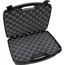 "MTM 80940 Case-Gard Two Handgun Case up to 8"" Barrel Textured Polypropylene"