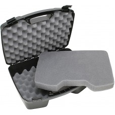 "MTM 81140 Case-Gard Four Handgun Case up to 8"" Barrel Textured Polypropylene Bla"