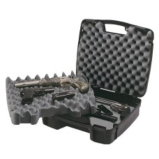 Plano 10-10164 SE Four Pistol/Accessory Case Plastic Ribbed