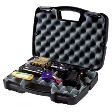 Plano 10-10137 SE Single Scoped Handgun Case Plastic Ribbed Black