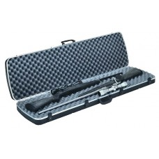 Plano 10252 Gun Guard DLX Double Scoped Rifle Case Alligator Textured Poly Black
