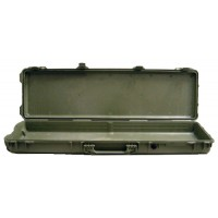 Pelican 1750 Protector Rifle Case Ultra High Impact Structural Copolymer Smooth