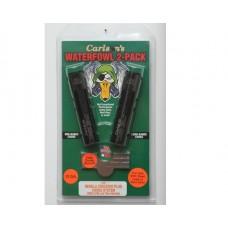 Carlsons 07570 Waterfowl 2-Pack Choke Tubes 12 Ga Mid and Long Range Black