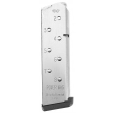 Chip McCormick Custom 14131 1911 45 ACP 8 rd Stainless Steel Finish