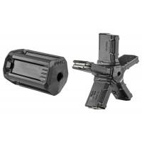 Mako PMC Pentagon 5 Magazine Coupler FAB Defense AR-15 223 Rem/5.56 NATO Polymer Black