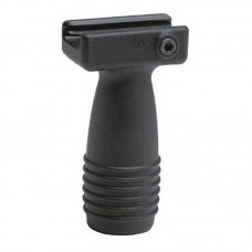 CAA MVG Short Vertical Grip w/Pressure Switch Mounts Poly/Rubber Blk