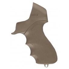 Hogue 05015 Mossberg 500 Tamer Grip/Forend Black Rubber