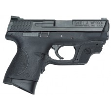 Smith & Wesson 10177 M&P Compact with Crimson Trace Green Double 40 Smith & Wesson (S&W) 3.5