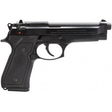 """Beretta USA JS92F300M 92 FS Italy Single/Double 9mm Luger 4.9"""" 15+1 Black Synthetic Grip Black Bruniton"""