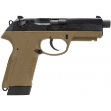 "Beretta USA JXF5F45 Px4 Storm Special Duty Single/Double 45 Automatic Colt Pistol (ACP) 4.5"" TB 9+1 Dark Earth Interchangeable Backstrap Grip Black Bruniton"