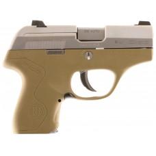 "Beretta USA JMP8D55 Pico 380 Double 380 Automatic Colt Pistol (ACP) 2.7"" 6+1 AS Flat Dark Earth Polymer Grip/Frame Stainless Steel"