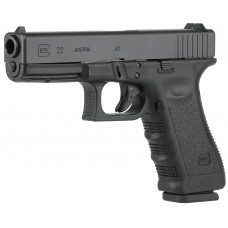 Glock 15 + 1 Double Action Only 40S&W w/Rough Textured Frame/Fixed Sights