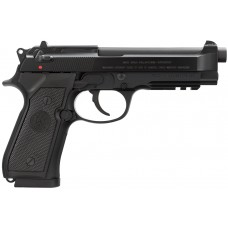 "Beretta USA J9A4F10 96 A1 Single/Double 40 Smith & Wesson (S&W) 4.9"" 12+1 Black Synthetic Grip Black Bruniton"