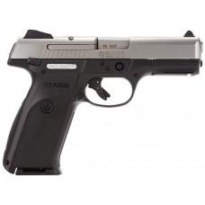 "Rug 3472 KSR4010L Standard 40S&W 4.1"" 10+1 Blk Polymer Grip Stainless"