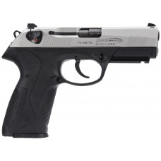 "Beretta USA JXF9F50 PX4 Storm Inox Single/Double 9mm Luger 4"" 10+1 Black Interchangeable Backstrap Grip Stainless Steel"