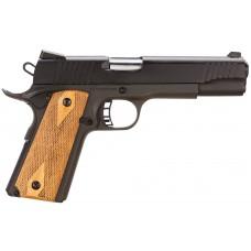 """Citadel CIT9MMFSP M-1911 Full Size SAO 9mm 5"""" 8+1 Wood Grip Black"""