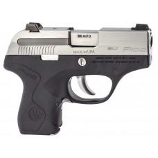 "Beretta USA JMP8D25 Pico 380 Double 380 Automatic Colt Pistol (ACP) 2.7"" 6+1 Black Polymer Grip/Frame Grip Stainless Steel"