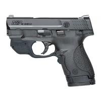 Smith & Wesson 10147 M&P Shield w/Crimson Trace Green Laser Double 40 Smith & Wesson (S&W) 3.1