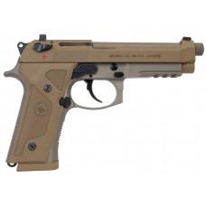 """Beretta USA JS92M9A3M 92 M9A3 FS SA/DA 9mm 5.2"""" TB Safety/Decocker 17+1 NS Poly Grip Flat Dark Earth"""