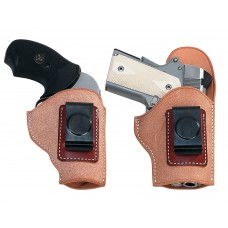 "El Paso Saddlery EXDSRR EZ Carry Springfield  XD-S 3.3"" Barrel Leather Russet"