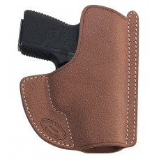 El Paso Saddlery HSLCPLRR High Slide Ruger LCP w/Laser Leather Russet