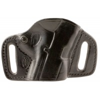 """El Paso Saddlery HSSWSRB High Slide S&W M&P Shield 3.1"""" Barrel Leather Black"""