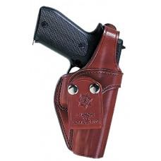 Bianchi 13763 3S Pistol Pocket  45 Auto Browning Hi-Power; Colt Delta Elite Leather Tan
