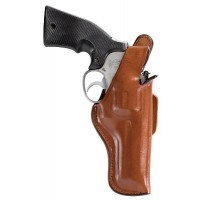 """Bianchi 10323 5 Thumbsnap  6.5"""" Barrel Astra .357; Colt; S&W 27/28/29 Leather Tan"""