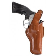 "Bianchi 13652 5 Thumbsnap  5.5-6"" Barrel Ruger Redhawk 44 Magnum Leather Tan"