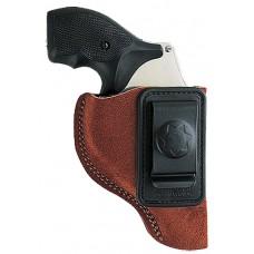 """Bianchi 10376 6 Waistband  2-3"""" Barrel Colt; Ruger; S&W Similar K/L Frame Leather Tan"""