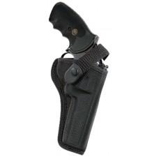 Bianchi 17684 7000 Sporting  Colt KC/Python; Llama Martial/Com; Ruger GP100 Accumold Trilaminate Black