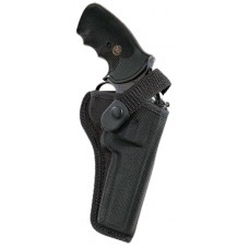 Bianchi 17686 7000 Sporting  Colt KC/Python; Llama Martial/Com; Ruger GP100 Accumold Trilaminate Black