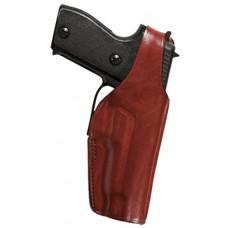 Bianchi 17642 19L Thumb Snap  Colt Officers ACP; Detonics Combat Master 45 Leather Tan