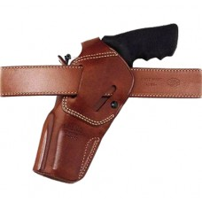 """Galco DAO106 DAO S&W L6, 6"""" Colt/Ruger/Taurus RH Belts to 1.75"""" Tan Leather"""