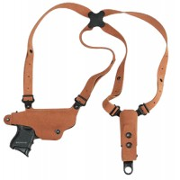 Galco CL224 Classic Lite Shoulder Holster 224 Adjustable Natural Suede