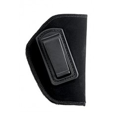 "Blackhawk 73IP03BKR Inside The Pants Clip Holster RH 4.5""-5"" Barrel Large Auto Soft Suede/Laminated/Nylon Black"