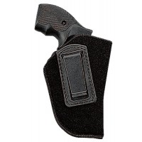 Uncle Mikes 8900 Inside the Pants Holster 8900-1 00-1 Black Soft Suede/Laminated