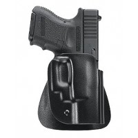 Uncle Mikes 5423-1 Kydex  Paddle Open Top 23 Black Kydex